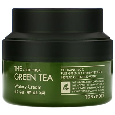 Купить Tony Moly The Chok Chok Green Tea, Watery Cream, 60 ml