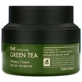 Tony Moly, The Chok Chok Green Tea, Watery Cream, 60 ml