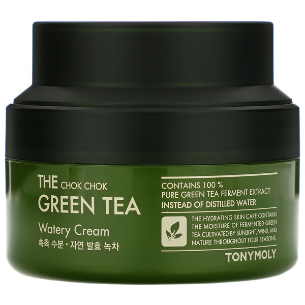 The Chok Chok Green Tea, Watery Cream, 60 ml