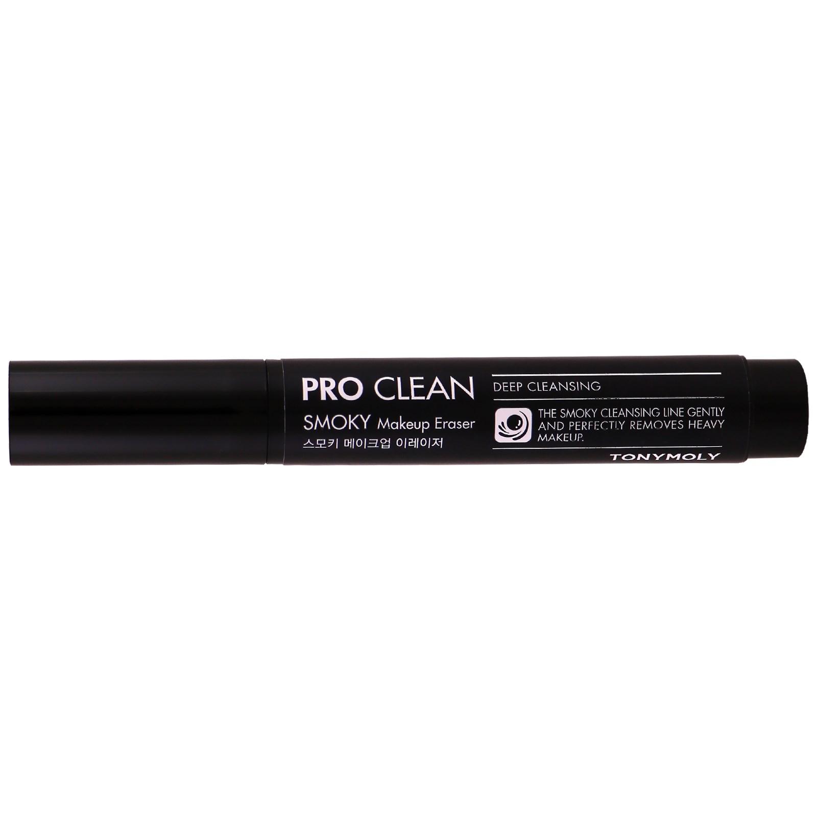 Tony Moly, Pro Clean, Удаление Smoky макияжа, 2 г