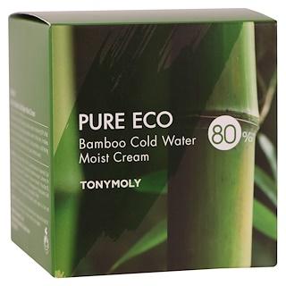 Tony Moly, Pure Eco, бамбуковый увлажнящий крем, 200 мл