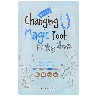 Tony Moly, Changing U, Magic Foot Peeling Shoes, 1 Pair, 0.60 oz (17 g) Each