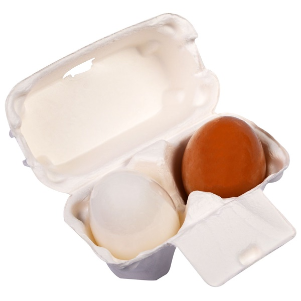 Tony Moly, Egg Pore Shiny Skin Soap, 2 Pieces 1.7 oz (50 g) Each