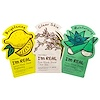 Tony Moly, I'm Real, Mask Sheet, Variety Set, 3 Pack (Discontinued Item)