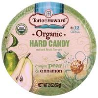 Organic, Hard Candy, D' Anjou Pear & Cinnamon, 2 oz (57 g) - фото