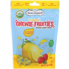 Torie & Howard, Organic Candy Chews, Original Chewie Fruities, Meyer Lemon & Raspberry, 4 oz (113.40 g)