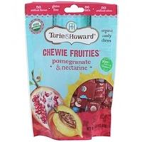 Органические, жевательные фруктовые конфеты, гранат и нектарин, 4 унц. (113,4 г) - фото