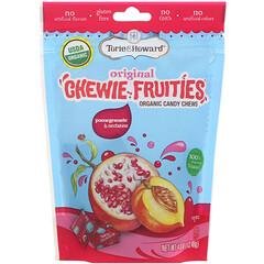 Torie & Howard, Organic Candy Chews, Original Chewie Fruities, Pomegranate & Nectarine, 4 oz (113.40 g)