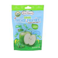 Органический продукт, Кислые жевательные фруктовые конфеты, Кислое яблоко, 4 унц. (113,40 г) - фото