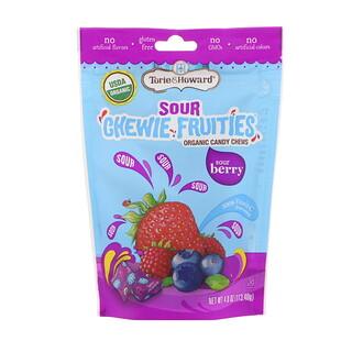 Torie & Howard, Orgánico, masticable frutal ácido, fresa ácida, 4 oz (113.40 g)