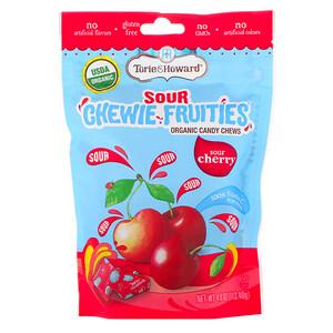 Torie & Howard, Organic, Sour Chewie Fruities, Sour Cherry, 4 oz (113.40 g) отзывы покупателей