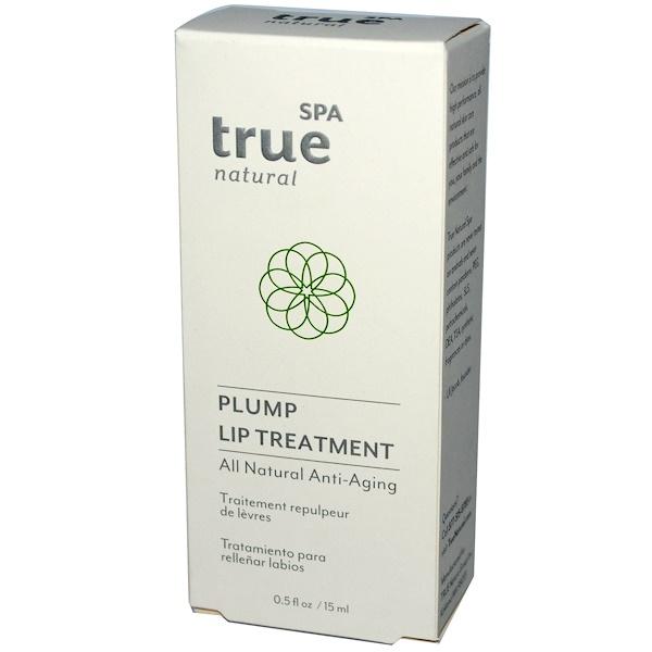 True Natural Spa, Plump Lip Treatment, 0.5 fl oz (15 ml) (Discontinued Item)