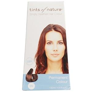 Tints of Nature, Устойчивая краска, натуральный светло-коричневый цвет, 5N, 4.4 жидких унций (130 мл) инструкция, применение, состав, противопоказания