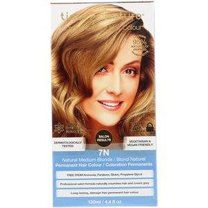 Тинтс оф Нэйчэр, Permanent Hair Color, Natural Medium Blonde, 7N, 4.4 fl oz (130 ml) отзывы