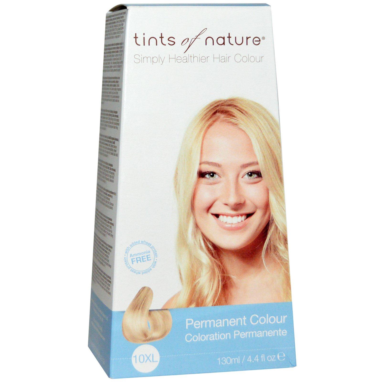 Tints of Nature, Устойчивая краска, очень светлый блондинистый оттенок, 10XL, 4.4 жидких унции (130 мл)