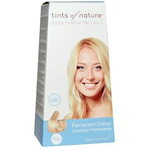 Tints of Nature, Устойчивая краска, очень светлый блондинистый оттенок, 10XL, 4.4 жидких унции (130 мл) инструкция, применение, состав, противопоказания