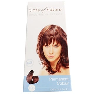 Tints of Nature, Permanent Color, Rich Chocolate Brown, 4CH, 4.4 fl oz (130 ml)