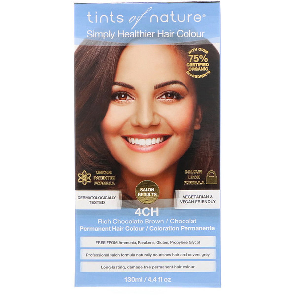 Tints Of Nature Permanent Hair Color Rich Chocolate