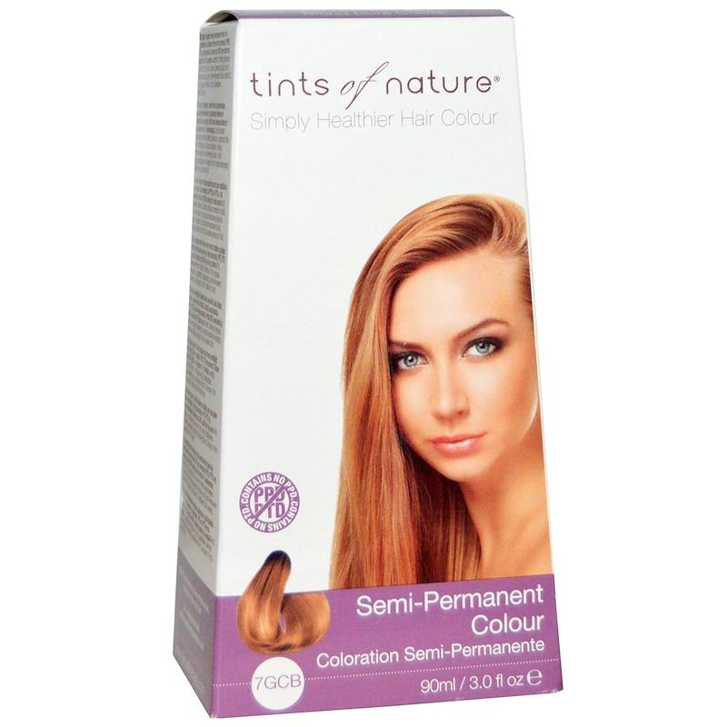 Tints of Nature Blød Kobber Blond Permanent 7R | Køb på