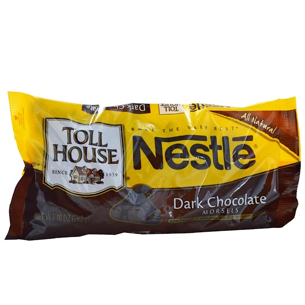 Nestle Toll House, 黑巧克力, 10 盎司 (283 克)