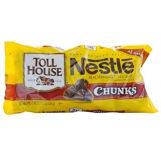Nestle Toll House, قطع، شيكولاتة نصف حلوة، 11.5 أوقية (326 غرام)