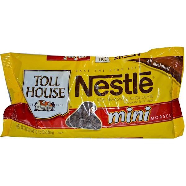 Mini Morsels, Real Semi-Sweet Chocolate