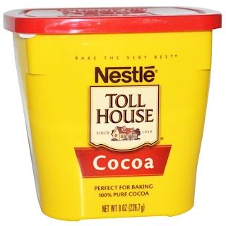 Nestle Toll House, ココア, 8 oz (226.7 g)