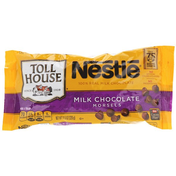 Nestle Toll House, Milk Chocolate Morsels, 11.5 oz (326 g) (Discontinued Item)