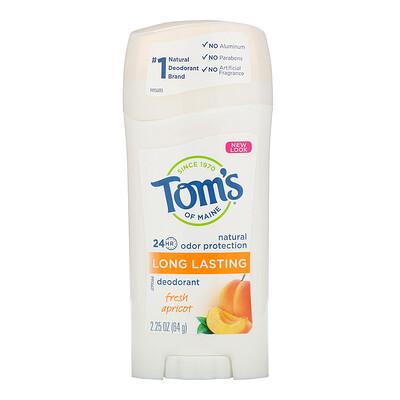 Natural Long Lasting Deodorant, Fresh Apricot, 2.25 oz (64 g)