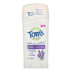 Tom's of Maine, 天然長效淨味劑,野生薰衣花草,2.25 盎司(64 克)