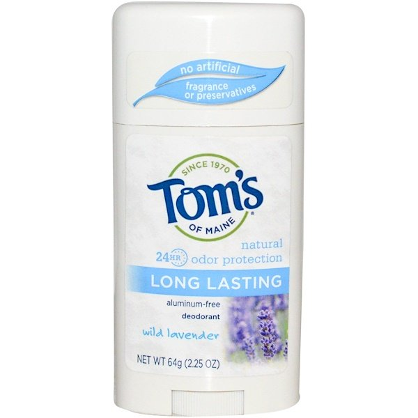 tom 39 s of maine natural long lasting deodorant aluminum free wild lavender oz 64 g. Black Bedroom Furniture Sets. Home Design Ideas