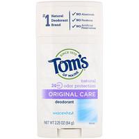 Оригинальный, неароматизированный дезодорант, 2,25 унции (64 г) - фото