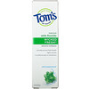 Tom's of Maine, Natural Anticavity,  Wicked Fresh!  with Fluoride Toothpaste, Cool Peppermint, 4.7 oz (133 g)