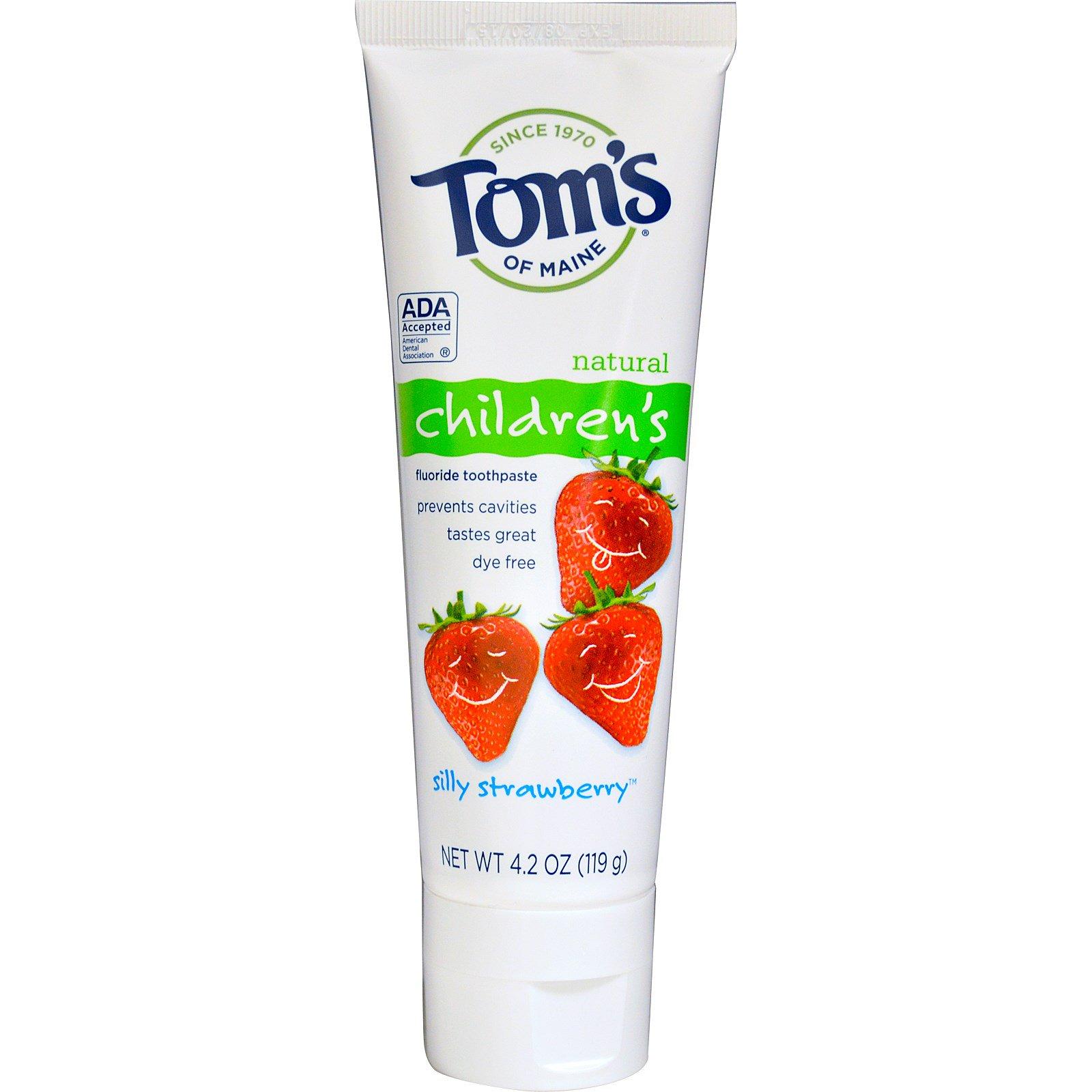 Toms Natural Children S Toothpaste   Oz