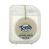 Tom's of Maine, Naturally Waxed Antiplaque Flat Floss, Spearmint, 29.2 m (32 yd)