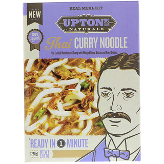 Upton's Naturals, Real Meal Kit, Thai Curry Noodle, 9.87 oz (280 g)