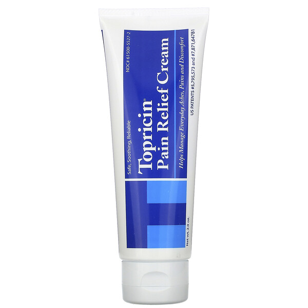 Pain Relief and Healing Cream, 2.0 oz