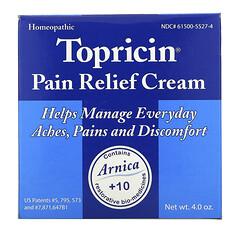 Topricin, 疼痛舒緩霜,4.0 盎司