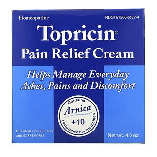 Topricin, كريم تسكين الألم، 4.0 أونصات