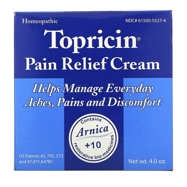 Pain Relief and Healing Cream, 4.0 oz