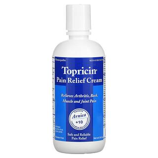 Topricin, Pain Relief Cream, 8 oz