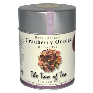 Зе Тао оф Ти, Hand Blended Herbal Tea, Cranberry Orange, 4 oz (115 g) отзывы