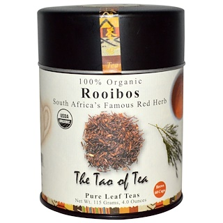 The Tao of Tea, 100% Organic, South Africa's Famous Red Herb, Rooibos, 4.0 oz (115 g)