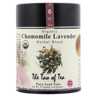 The Tao of Tea, Organic Herbal Blend, Chamomile Lavender, Caffeine Free, 2 oz (57 g)
