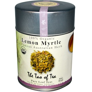 The Tao of Tea, Organic Famous Australian Herb, Lemon Myrtle, Caffeine Free, 3 oz (85 g)