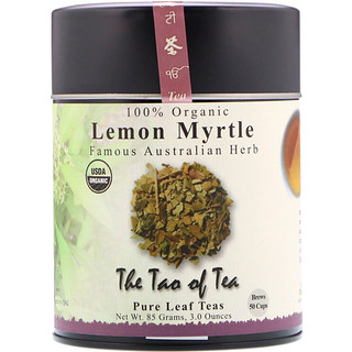 The Tao of Tea, 100% Organic Lemon Myrtle, Famous Australian Herb, Caffeine Free, 3 oz (85 g)
