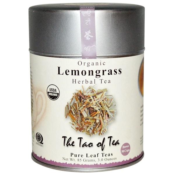 The Tao of Tea, Organic, Herbal Tea, Lemongrass, 3.0 oz (85 g) (Discontinued Item)