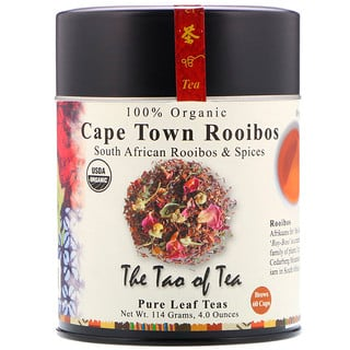 The Tao of Tea, 100% Organic South African Roobios & Spices, Cape Town Rooibos, 4.0 oz (114 g)