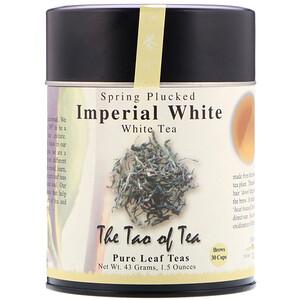 Зе Тао оф Ти, Spring Plucked White Tea, Imperial White , 1.5 oz (43 g) отзывы покупателей