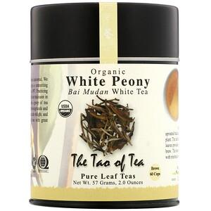 Зе Тао оф Ти, Organic Bai Mudan White Tea, White Peony, 2.0 oz (57 g) отзывы покупателей